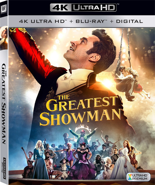 Величайший шоумен / The Greatest Showman (2017) 4K HDR BD-Remux