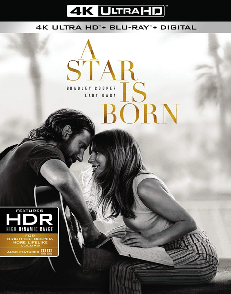 Звезда родилась / A Star Is Born (2018) 4K HDR BD-Remux