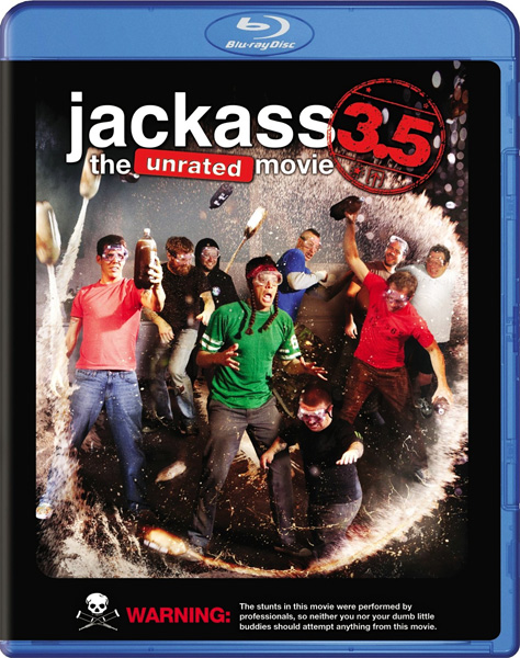 Чудаки 3.5 / Jackass 3.5 (2011) [Unrated] BDRip 1080p