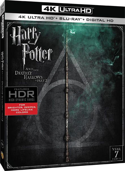 Гарри Поттер и Дары Смерти: Часть II / Harry Potter and the Deathly Hallows: Part 2 (2011) 4K HDR BD-Remux