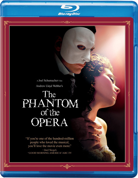 Призрак оперы / The Phantom of the Opera (2004) BDRip 720p, 1080p, BD-Remux