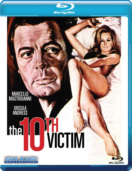 Десятая жертва / The Tenth Victim / The 10th Victim / La Decima vittima (1965) BDRip 720p, 1080p, BD-Remux