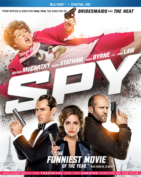 Шпион / Spy (2015) [UNRATED] BDRip 720p, 1080p, BD-Remux