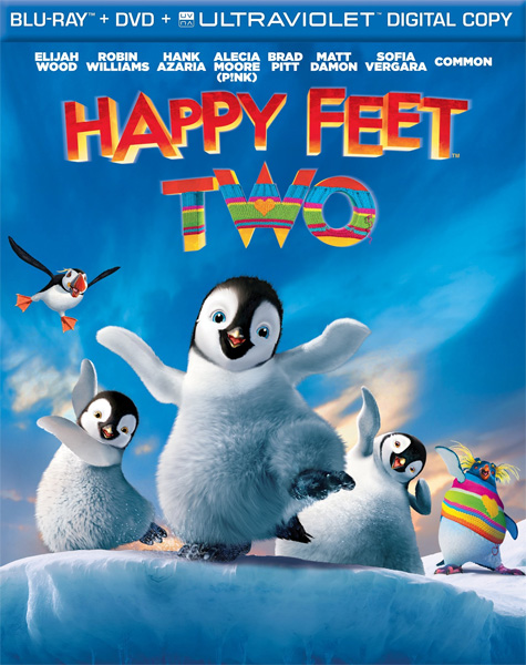 Делай ноги 2 / Happy Feet Two (2011) BDRip 720p, 1080p, BD-Remux