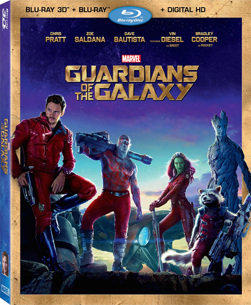 Стражи Галактики / Guardians of the Galaxy (2014) Blu-Ray EUR