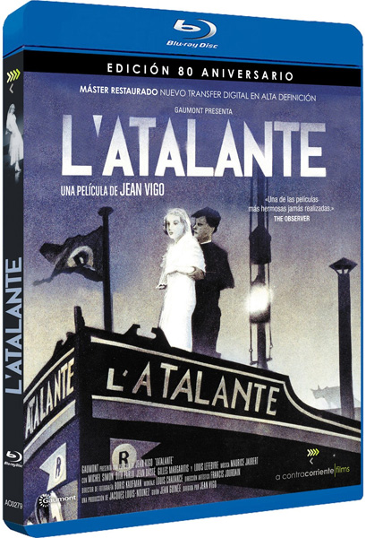 Аталанта / L'Atalante (1934) [Remastered] BDRip 720p, 1080p, BD-Remux