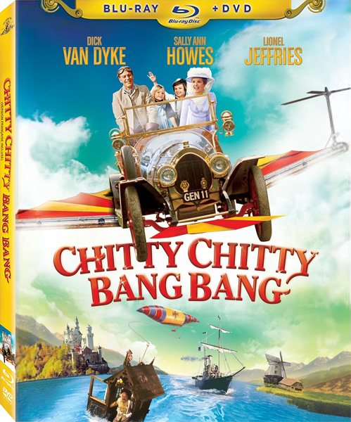Пиф-паф ой-ой-ой / Chitty Chitty Bang Bang (1968) BDRip 720p, 1080p, Blu-Ray EUR
