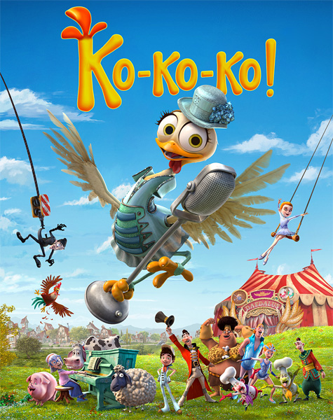 Ко-ко-ко! / Turu, the Wacky hen / La Gallina Turuleca (2019) WEB-DL 1080p