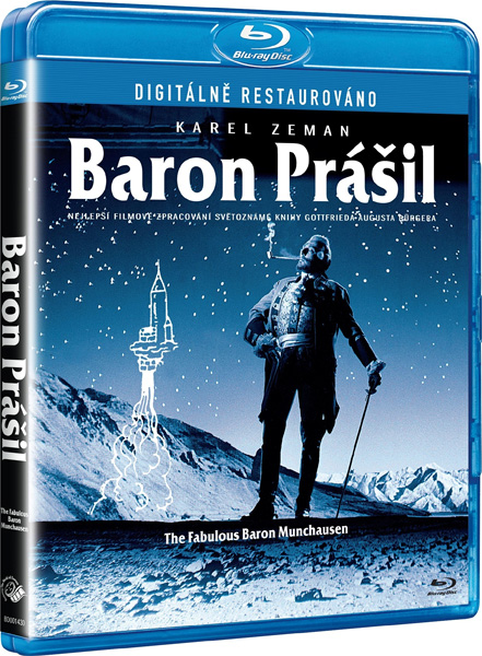 Барон Мюнхгаузен / The Fabulous Baron Munchausen / Baron Prasil (1961) BDRip 1080p, BD-Remux