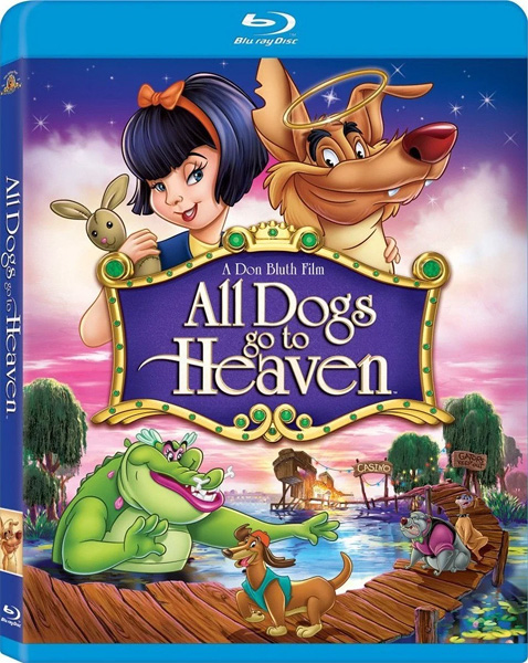 Все псы попадают в рай / All Dogs Go to Heaven (1989) BDRip 720p, 1080p, BD-Remux
