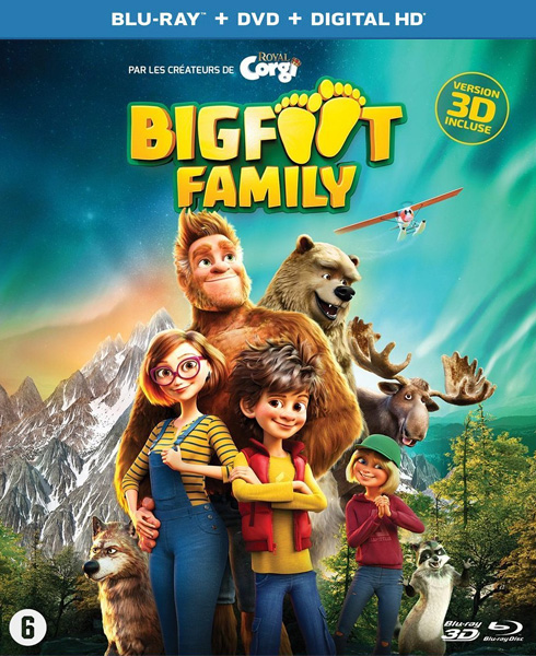 Семейка Бигфутов / Bigfoot Family (2020) BDRip 720p, 1080p, 3D (HOU), BD-Remux, BD-Remux [2D/3D]