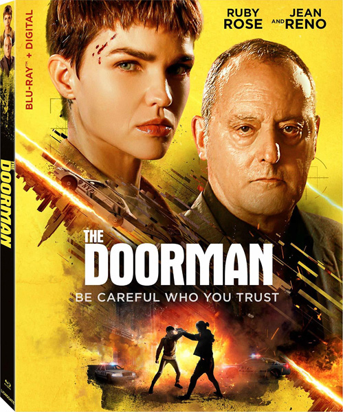 Малышка с характером / The Doorman (2020) [GER Transfer] BDRip 720p, 1080p, BD-Remux