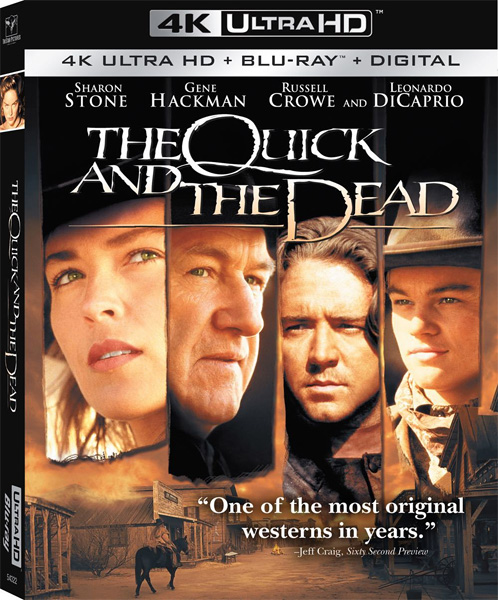 Быстрый и мертвый / The Quick and the Dead (1995) 4K HDR BD-Remux