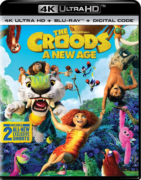 Семейка Крудс: Новоселье / The Croods: A New Age (2020) 4K HDR BD-Remux, Blu-Ray 4K EUR