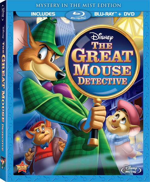 Великий мышиный сыщик / The Great Mouse Detective (1986) BDRip 720p, 1080p, BD-Remux