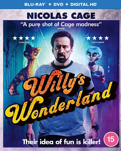 Страна чудес Вилли / Willy's Wonderland (2021) BDRip 720p, 1080p, BD-Remux