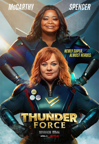 Сила Грома / Thunder Force (2021) WEB-DL 720p, 1080p