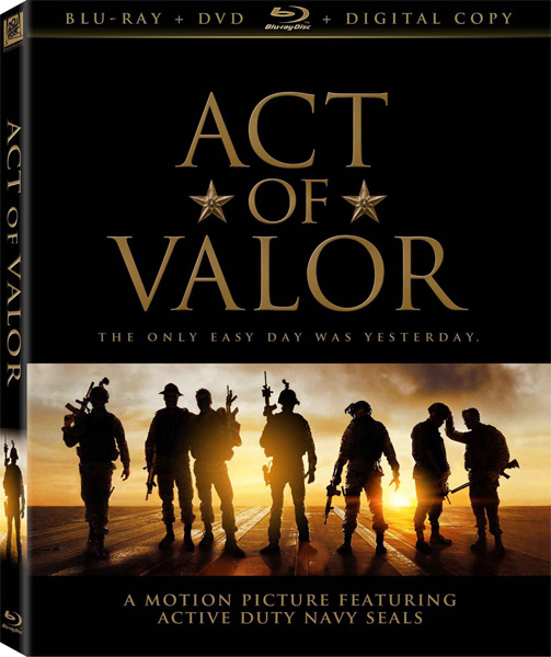 Закон доблести / Act of Valor (2012) [Open Matte] BDRip 720p, 1080p, Blu-Ray RUS