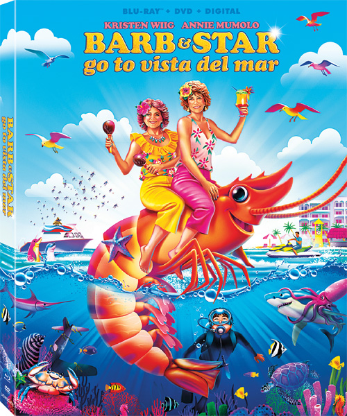 Барб и Звезда едут в Виста дель Мар / Barb and Star Go to Vista Del Mar (2021) BDRip 720p, 1080p, BD-Remux